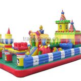 2015 New finished inflatable playground rentals,inflatable trampoline playground