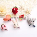 wholesale bobby pin Christmas decorations birthday present baby animal felted wool hair pin