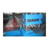 3phase / 50 Hz W-beam GuardRails Roll Forming Machine with Cr 12 Mould Steel Cutter Blade