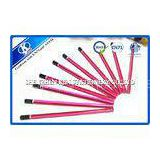 Students Gift HEX Sketching Pencil Set / Soft Sketch Pencils Stationery Set Eco Friendly