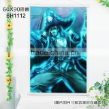 Hot Game Home Cartoon Decor Poster Wall King Glory Anime Wall scrolls Paintings Wall Stickers 60*90CM