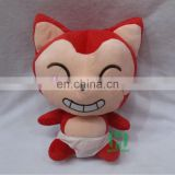 HI CE movie character ali stuffed toys for children,cartoon character plush doll with super soft
