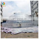 2014 New Fashion transparent inflatable dome tent bubble tent