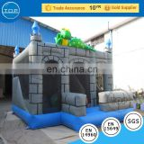 Hot selling pumpkin bounce house happy hop bouncy castle with CE certificate