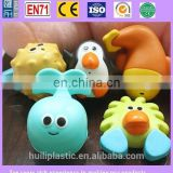 cute vinyl bath toys, vinyl squeaky bath toys, vinyl animal bath toys