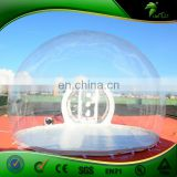 Giant Inflatable Bubble Tent with Tunnels Camping Transparent Dome Tent Hiking Inflatables Balloon