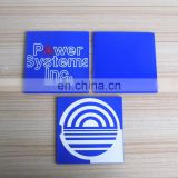 custom rubber silicon square coaster