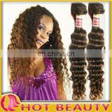 Hot Sale Peruvian virgin remy hair curly natural colors 100g/pc