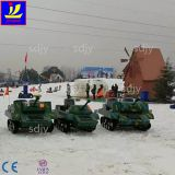 Outdoor Playground Equipmentride on tankfor kids entertainment