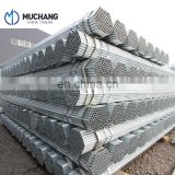 BSEN 10255 standard hollow section ERW and galvanized steel pipe