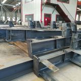 Prefabricated steel structures for workshop metal-beams