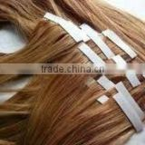double sided tape hair/PU tape /Remy human hair extension