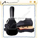 Black Shock proof and waterproof Acoustic guitar case for abecedarian