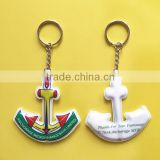 Top Quality Promotion Custom plastic Keychain,Cheap Pvc Custom Keychain,led keychain flashlight