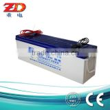 High quality for solar light AGM VRLA 24v deep cycle battery