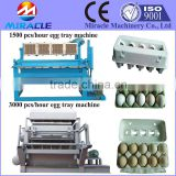 Waste paper recycling to produce paper tray, shoes tray making machine price
