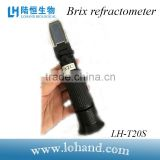 fruit milk tea test equipment refractometers