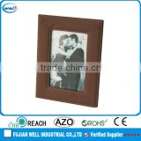 fashion pu leather couples photo frame