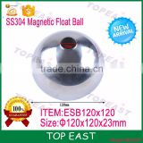 High quality SS304 Stainless steel Magnetic float BALL for water sensor ESB120*120*23 Hot selling