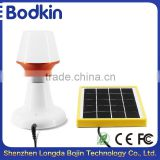 USB power supply warm color LED solar powered reading lamp