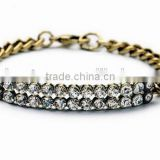 Vintage Gold acrylic bracelet innovative items girl crystal bracelets 2015 valentine day gift fashion rhinestone bracelets 2015