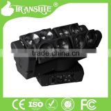 high power stage flash light variable strobe speeds RGBW 8*10W led stage lighting effect led moving beam spider light