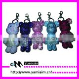 Promotional rhinestone keychain cheap