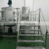 cosmetic gel mixing machine/mixing tank with homogenizer/cosmetic cream emulsifying machine