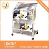 Iron Newspaper Stand for Office