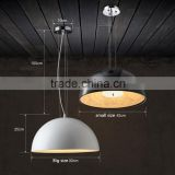 modern led round pendant light iron pendant lamps resin pattern hanging lamps frosted glass pendant lighting