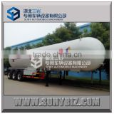 gas delivery road tank semi trailer lpg tanker trailer for United Arab Emirates                                                                         Quality Choice