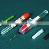 Vacuum blood collection tube,Clot Activator, PET/Glass
