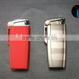 METAL JET FLAME BUTANE REFILLABLE ELECTRIC LIGHTER FOR CIGAR