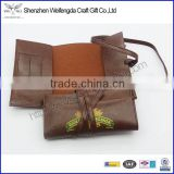 Fashion unique design handmade pu leather rolling tobacco pouch                                                                         Quality Choice