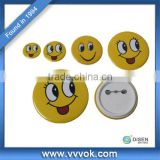 Hot sale smiley face badges