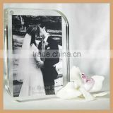 Customize Magnetic Acrylic Frame , Magnet Connecting Acrylic Photo Frame for Wedding Memorial