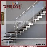 tempered galvanized glass stair metal used treads