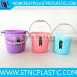 bathroom portable plastic water bucket with lid                                                                         Quality Choice