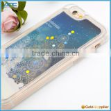 Liquid Glitter Star Phone Case, 3D Christmas Tree Liquid Case for iPhone 6 6s
