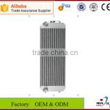 China factory new cheap brazed water aluminium plate-bar radiator