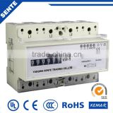 DTS7666 TYPE THREE-PHASE ELECTRIC DIN RAIL ENERGY ampere meter