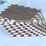 high quality print wood grain eva judo tatami mat