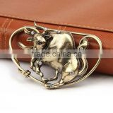 Wholesale Vintage Alloy Rhinestone Animal Brooches for Men's Suit