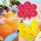Smile shape creative ice freezer ice mold lattice maker DIY mold silicone frozen ice trays summer must Bar Party Drink