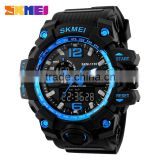Cheap dual analog digital watch with japanese movement lcd display