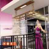 outdoor automatic ceiling mounted aluminium clothes drying rack                                                                                                         Supplier's Choice