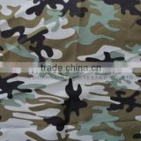 camouflage sanded plain peach skin fabric for military garment