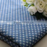 polyester cotton woven floral deisng custom fabric printing denim jean cheap denim fabric