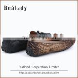 wholesale cheap price tassels black hammer safety moccasin loafers shoes for lady