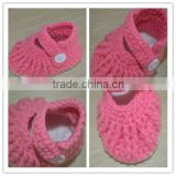 hot selling knitted girls fashion boots soft sole newborn baby shoes crochet pattern infant baby grils winer boots